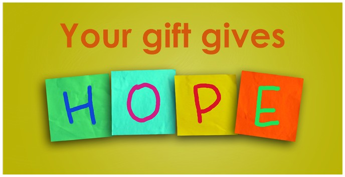 Gift gives HOPE